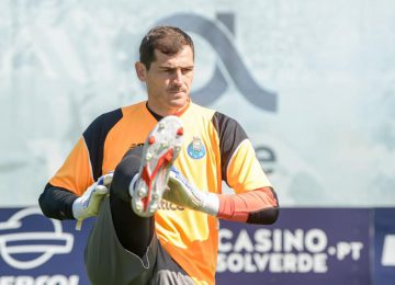 Iker Casillas, imagen del FC Porto