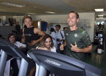 Sport·Pulse participa en los reconocimientos médicos de Betis